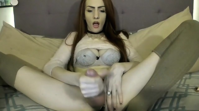 Freya Siren Song.. big tits masturbation solo shemale